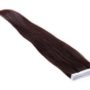 tape hair extensions natural black 1B#