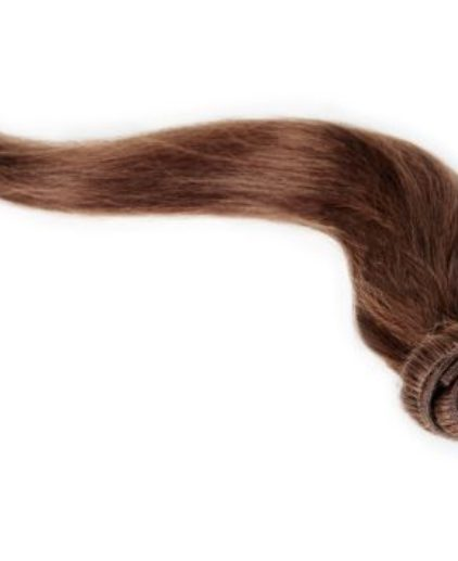 clip in hair extensions light brown 6#